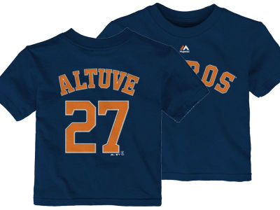Houston Astros Jose Altuve Majestic MLB Infant Official Player T-Shirt