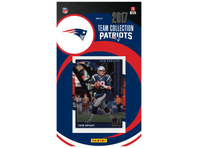 New England Patriots 2017 NFL Team Card Set