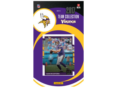 Minnesota Vikings 2017 NFL Team Card Set