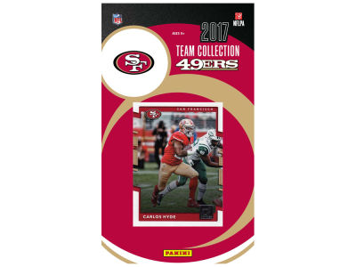 San Francisco 49ers 2017 NFL Team Card Set