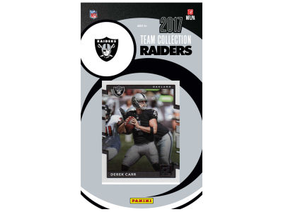 Oakland Raiders 2017 NFL Team Card Set