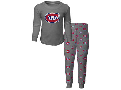 Montreal Canadiens NHL Kids Long Sleeve Sleep Set