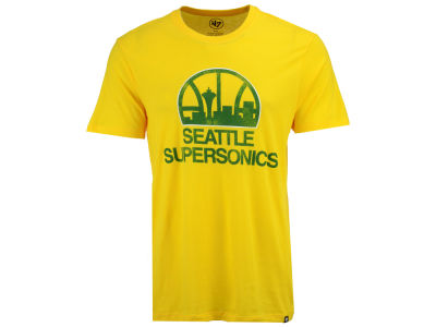 Seattle SuperSonics '47 NBA Men's Primary Logo Club T-shirt