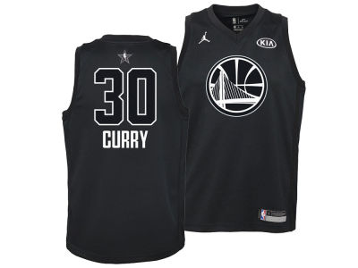 Golden State Warriors Stephen Curry Nike 2018 NBA Youth All-Star Swingman Jersey