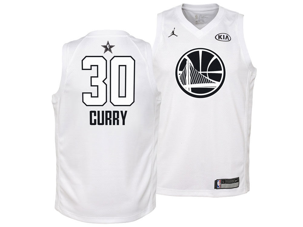 Golden State Warriors Stephen Curry Nike 2018 NBA Youth All-Star Swingman  Jersey  c50d5a965