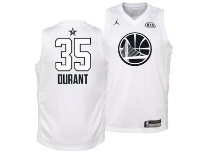 Golden State Warriors Kevin Durant Nike 2018 NBA Youth All-Star Swingman Jersey