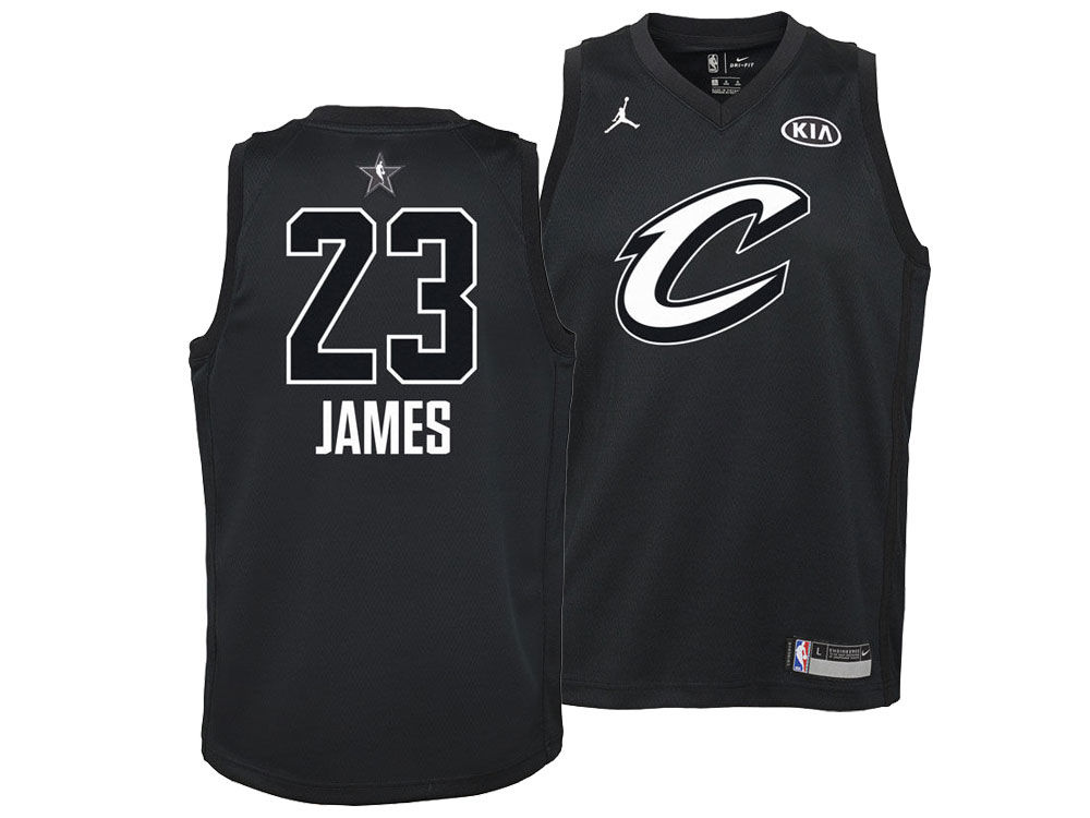 Cleveland Cavaliers LeBron James Nike 2018 NBA Youth All-Star Swingman  Jersey