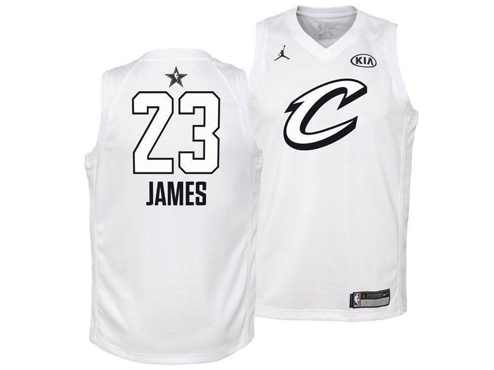 Cleveland Cavaliers LeBron James Nike 2018 NBA Youth All-Star Swingman  Jersey  981985b51