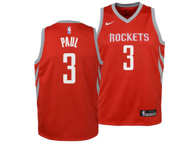 Houston Rockets Chris Paul Nike NBA Youth Icon Swingman Jersey