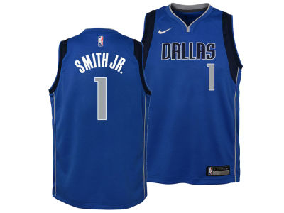 Dallas Mavericks Dennis Smith Nike NBA Youth Icon Swingman Jersey