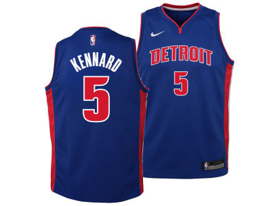 Detroit Pistons Luke Kennard Nike NBA Youth Icon Swingman Jersey