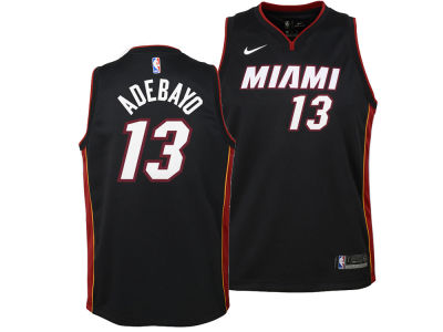 Miami Heat Bam Adebayo Nike NBA Youth Icon Swingman Jersey