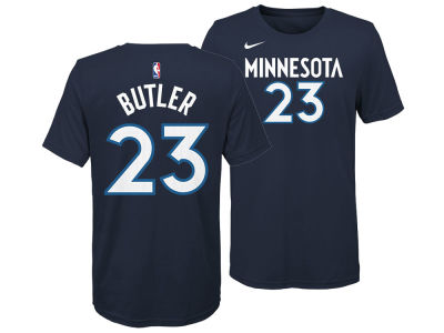 Minnesota Timberwolves Jimmy Butler Nike NBA Youth Icon Name and Number T-Shirt