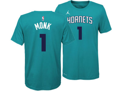 Charlotte Hornets Malik Monk Nike NBA Youth Icon Name and Number T-Shirt