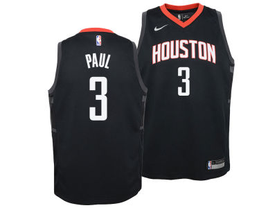 Houston Rockets Chris Paul Nike NBA Youth Statement Swingman Jersey