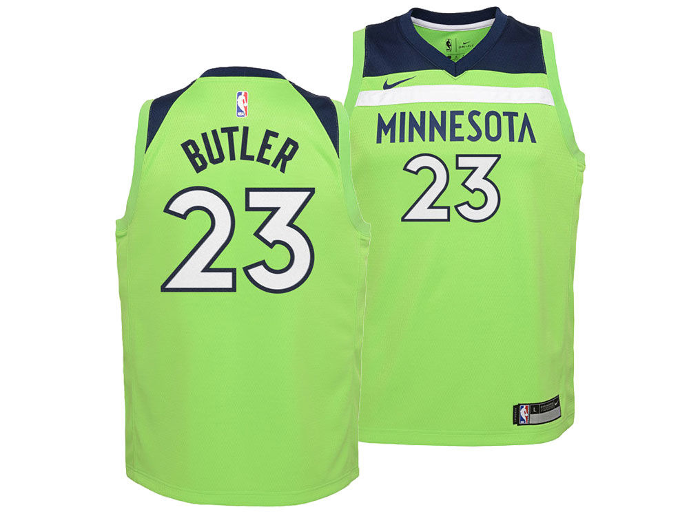 Minnesota Timberwolves Jimmy Butler Nike NBA Youth Statement Swingman Jersey   9d1713fe1