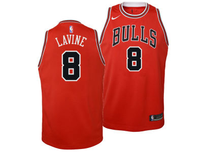 Chicago Bulls Zach LaVine Nike NBA Youth Icon Swingman Jersey