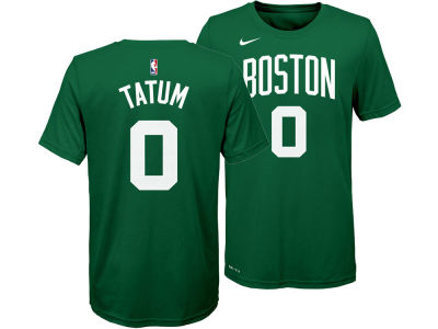 Boston Celtics Jayson Tatum Nike NBA Youth Icon Name and Number T-Shirt