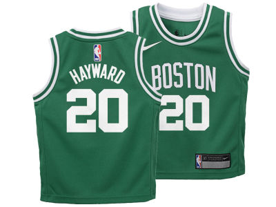 Boston Celtics Gordon Hayward Nike NBA Kids Icon Replica Jersey