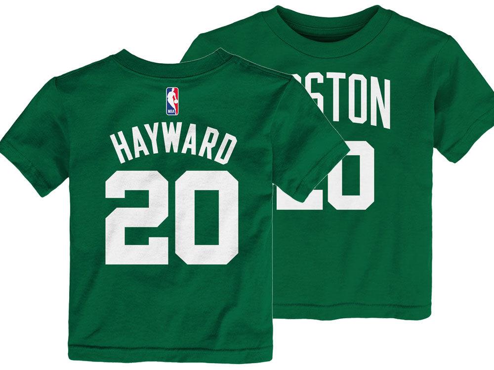 Boston Celtics Gordon Hayward Nike NBA Toddler Replica Name and Number T- Shirt  e4c20893d25e