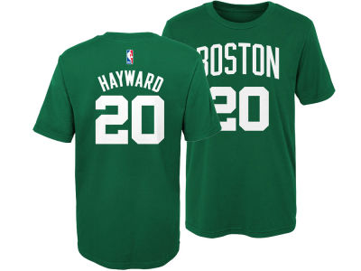 Boston Celtics Gordon Hayward Nike NBA Kids Replica Name and Number T-Shirt c3bd918a5