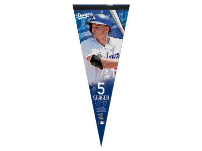 Los Angeles Dodgers Corey Seager Wincraft 12x30 Premium Player Pennant