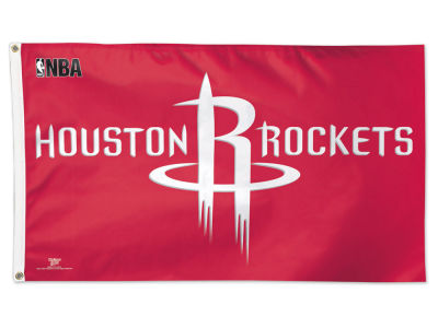 Houston Rockets 3x5 Deluxe Flag