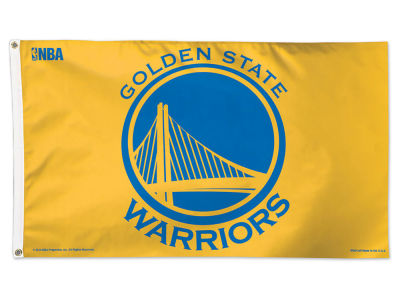 Golden State Warriors 3x5 Deluxe Flag