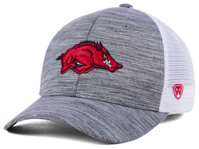 Arkansas Razorbacks Top of the World NCAA Warmup Adjustable Cap