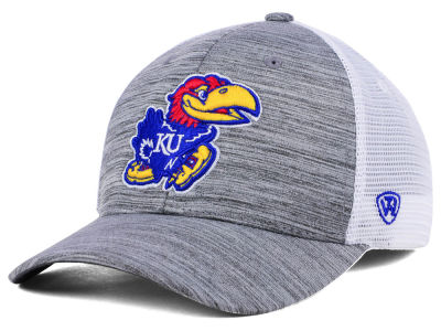 Kansas Jayhawks Top of the World NCAA Warmup Adjustable Cap