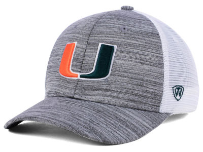 Miami Hurricanes Top of the World NCAA Warmup Adjustable Cap