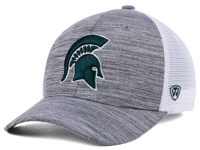 Michigan State Spartans Top of the World NCAA Warmup Adjustable Cap