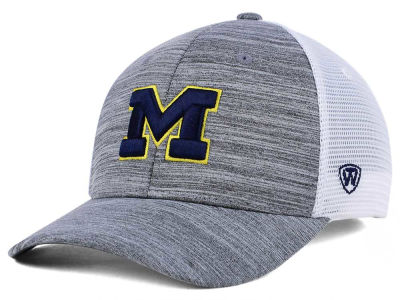 Michigan Wolverines Top of the World NCAA Warmup Adjustable Cap