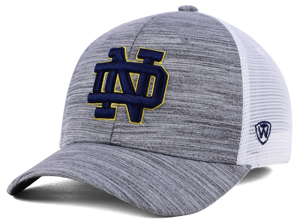 Notre Dame Fighting Irish Top of the World NCAA Warmup Adjustable Cap  2110361b90f9
