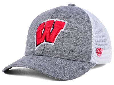 Wisconsin Badgers Top of the World NCAA Warmup Adjustable Cap