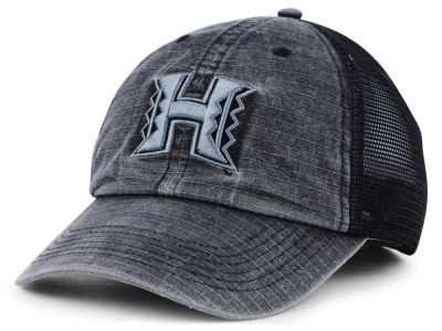 Hawaii Warriors Top of the World NCAA Ploom Adjustable Cap