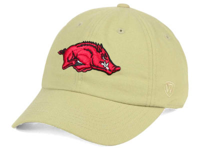Arkansas Razorbacks Top of the World NCAA Main Adjustable Cap