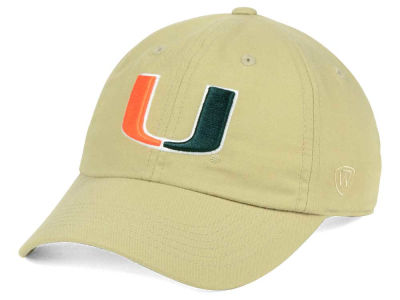 Miami Hurricanes Top of the World NCAA Main Adjustable Cap