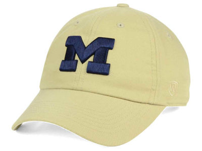 Michigan Wolverines Top of the World NCAA Main Adjustable Cap