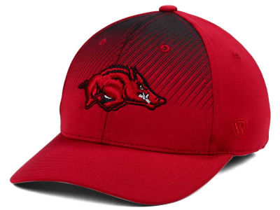 Arkansas Razorbacks Top of the World NCAA Fallin Stretch Cap