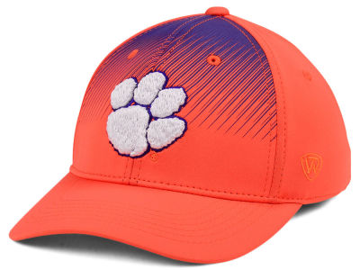 Clemson Tigers Top of the World NCAA Fallin Stretch Cap