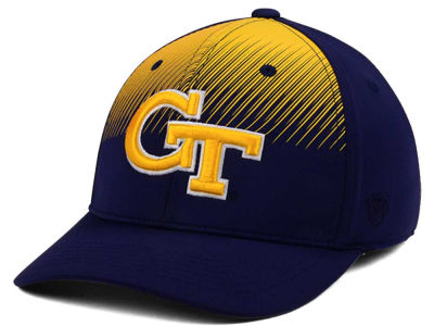 Georgia-Tech NCAA Fallin Stretch Cap