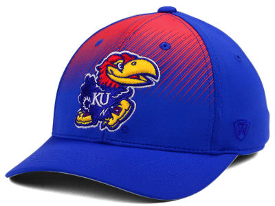 Kansas Jayhawks Top of the World NCAA Fallin Stretch Cap