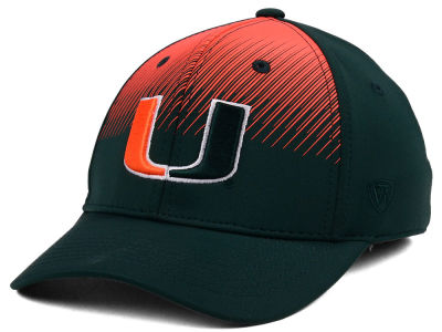 Miami Hurricanes Top of the World NCAA Fallin Stretch Cap