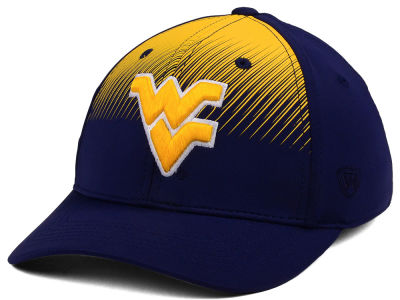 West Virginia Mountaineers Top of the World NCAA Fallin Stretch Cap