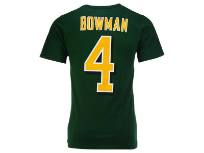 Edmonton Eskimos Adarius Bowman adidas CFL Men's Player T-Shirt