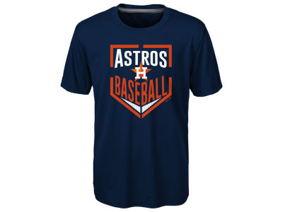 Houston Astros MLB Youth Run Scored Poly T-Shirt