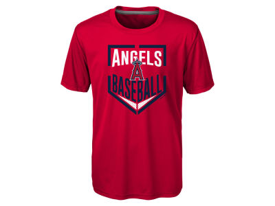 Los Angeles Angels MLB Youth Run Scored Poly T-Shirt