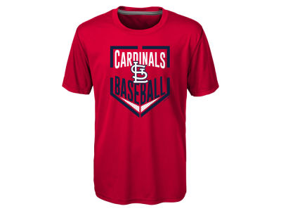 St. Louis Cardinals MLB Youth Run Scored Poly T-Shirt