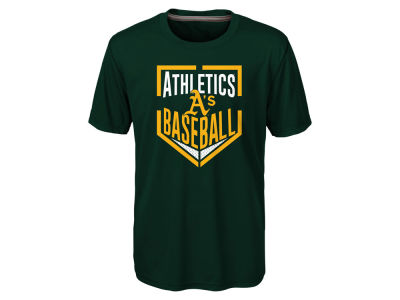 Oakland Athletics MLB Youth Run Scored Poly T-Shirt